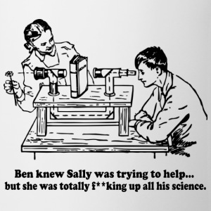 Sally Can't Science Bottles & Mugs - Coffee/Tea Mug
