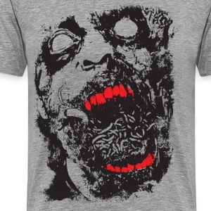 Zombie - Geek - Horror - Scifi T-Shirts - Men's Premium T-Shirt