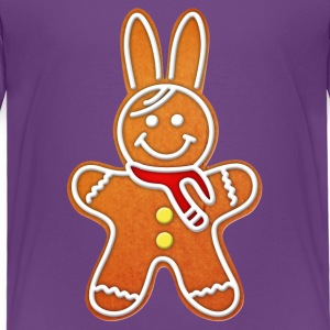 gingerbread rabbit bunny cony hare cookie biscuit Baby & Toddler Shirts - Toddler Premium T-Shirt