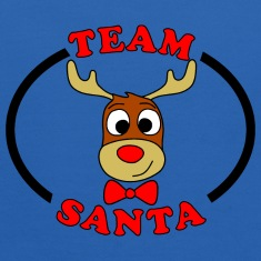 team santa reindeer male Sweatshirts