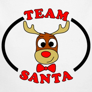 team santa reindeer male Baby & Toddler Shirts - Long Sleeve Baby Bodysuit