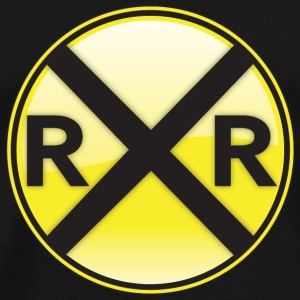 Railroad Crossing T-Shirts - Men's Premium T-Shirt
