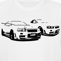 Nissan skyline t Shirts further Nissan 240sx Race Cars likewise  on 240sx gifts