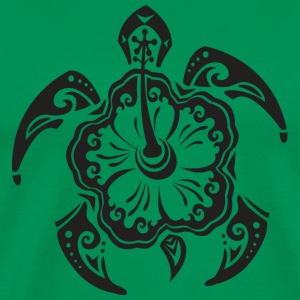 Tribal Sea Turtle T-Shirts - Men's Premium T-Shirt
