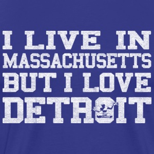 Live Mass Love Detroit T-Shirts - Men's Premium T-Shirt