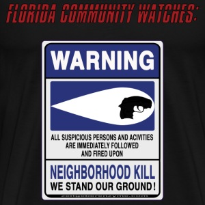 Neighborhood Kill 10x10 T-Shirts - Men's Premium T-Shirt