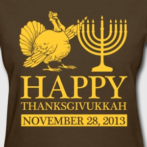 happy thanksgivukkah - Women's T-Shirt