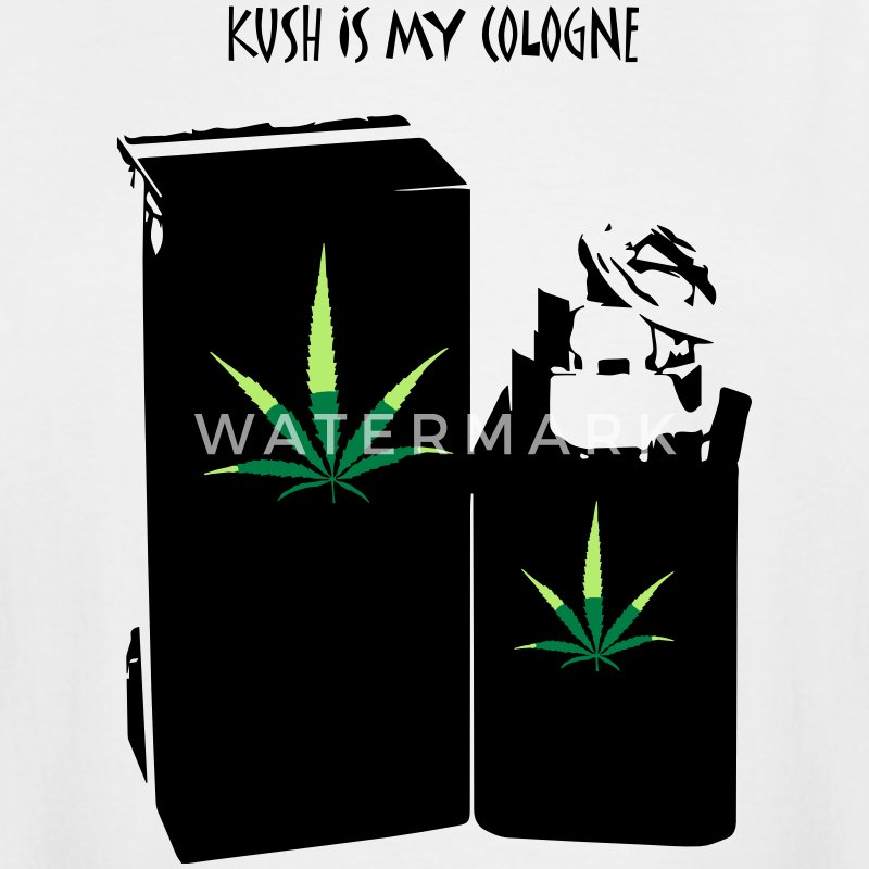 KUSH IS MY COLOGNE - Men's Tall T-Shirt