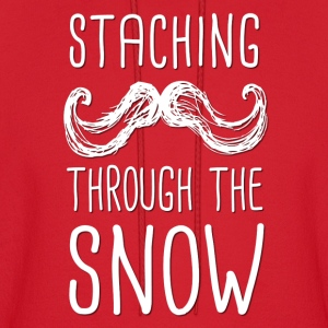 Staching Through the Snow  - Men's Hoodie