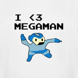 I Love Megaman Shirt - Men's Tall T-Shirt
