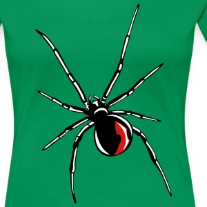 Black widow spider Women's T-Shirts - Women's Premium T-Shirt