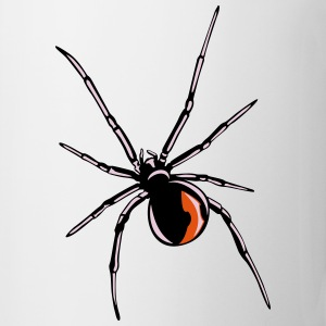 Black widow spider Bottles & Mugs - Coffee/Tea Mug