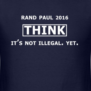 THINK - Rand Paul 2016 - Men's T-Shirt