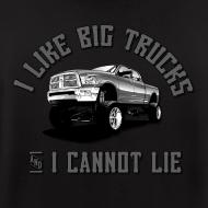 Design ~ I like big trucks hoodie