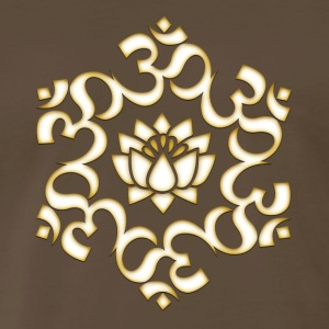Om Lotus, Buddhism, Yoga, Meditation, spiritual T-Shirts - Men's Premium T-Shirt