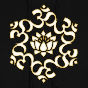 Om Lotus, Buddhism, Yoga, Meditation, spiritual Hoodies - Women's Hoodie