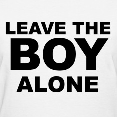 Leave the boy alone Women's T-Shirts