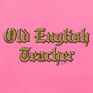 Old English Teacher Bags & backpacks - Tote Bag