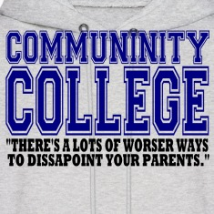 Community College Hoodies