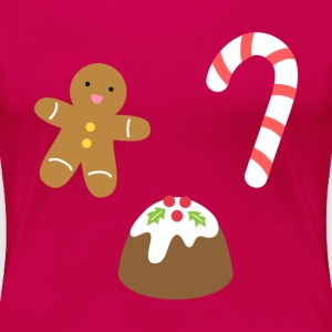 Favourite Christmas Goodies Women's T-Shirts - Women's Premium T-Shirt