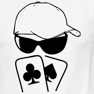 pokerface T-Shirts - Men's Ringer T-Shirt