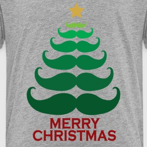Moustache Merry Christmas Tree Baby & Toddler Shirts - Toddler Premium T-Shirt