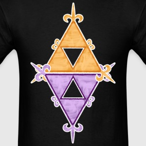 Hyrule Lorule Triforces T-Shirts - Men's T-Shirt