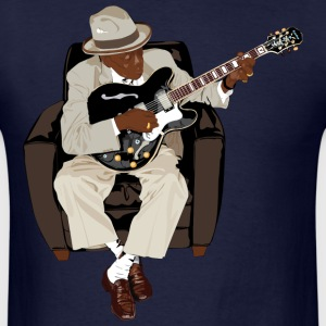 Blues Guitar - Men's T-Shirt
