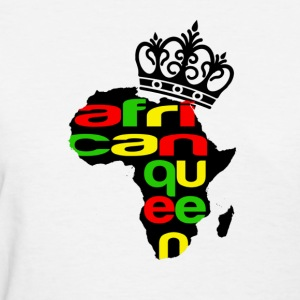 African Queen - Women's T-Shirt