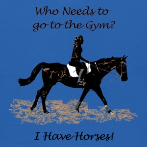 Who Needs to go to the Gym? Horse Sweatshirts - Kids' Hoodie