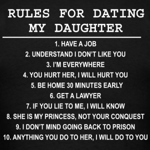 Daughter dating someone my age