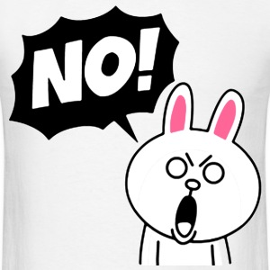 NO! - Men's T-Shirt