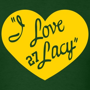 I LOVE LACY T-Shirts - Men's T-Shirt