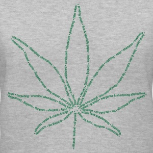 Uses for Cannabis - Women's V-Neck T-Shirt
