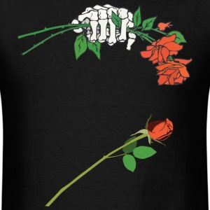 SkelHandRose1.png T-Shirts - Men's T-Shirt