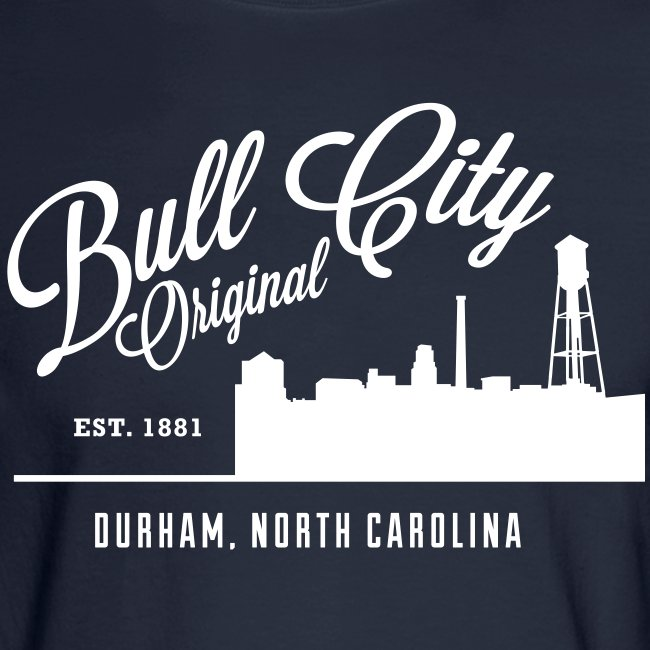 Bull City Original Bull City Skyline Long Sleeve Mens Long