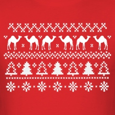 Christmas Hump Day Camel Ugly Sweater T-shirt