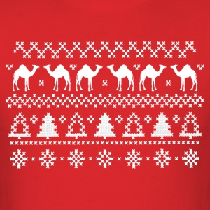 Christmas Hump Day Camel Ugly Sweater T-shirt - Men's T-Shirt