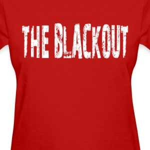 the_blackout Women's T-Shirts - Women's T-Shirt