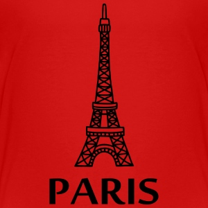 Paris - Eiffel Tower Kids' Shirts - Kids' Premium T-Shirt