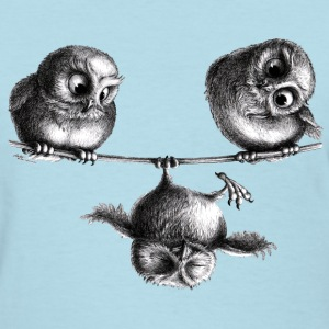 owls - freedom & fun - Women's T-Shirt