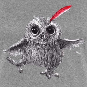 Chief Red - Happy Owl - Women's Premium T-Shirt