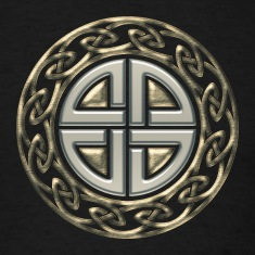 Celtic shield knot, Protection Amulet, Germanic,  T-Shirts