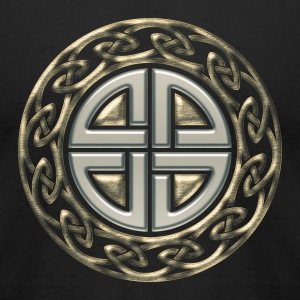 Celtic shield knot, Protection Amulet, Germanic,  T-Shirts - Men's T-Shirt by American Apparel