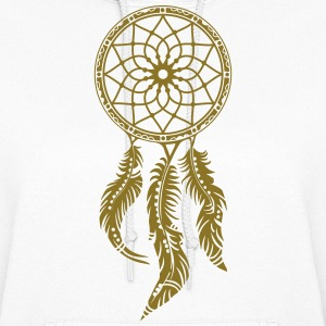 Dream catcher, Native American Indians, Feathers Hoodies - Women's Hoodie