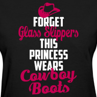 Design ~ Forget Glass Slippers