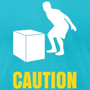 box jump T-Shirts - Men's T-Shirt by American Apparel