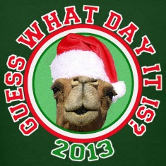 Christmas 2013 Hump Day Camel T-shirt