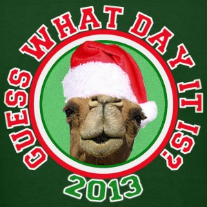 Christmas 2013 Hump Day Camel T-shirt - Men's T-Shirt