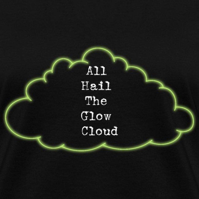 fandom rising all hail the glow cloud night vale t shirt womens